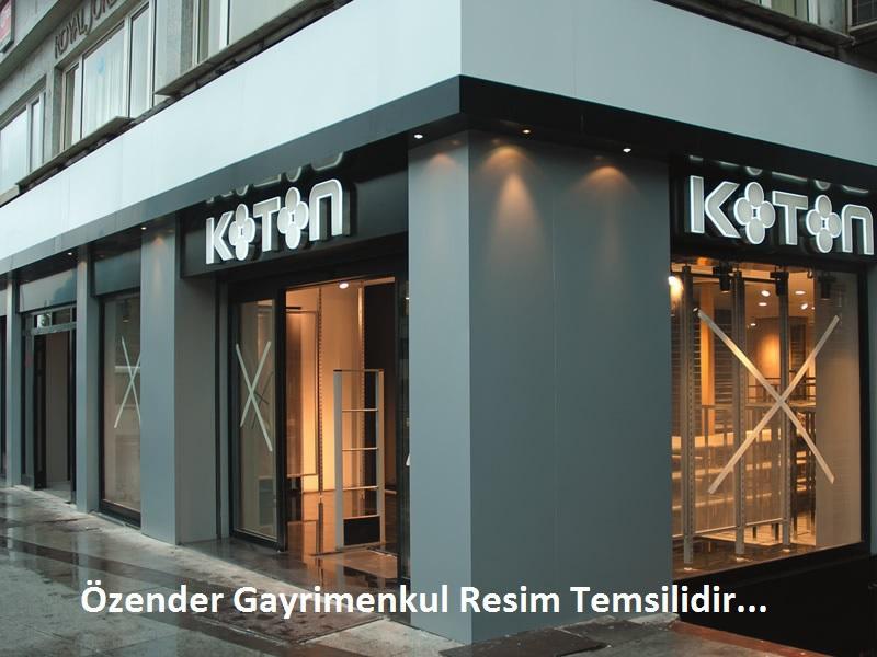 Bursa Nilüfer Özlüce Biaport Karşısında Yüksek Kira Getirili Dükkan